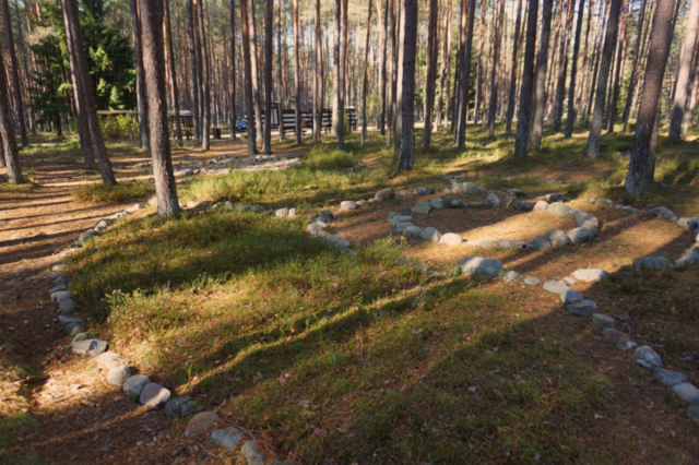 Kamienne kręgi w Grzybnicy